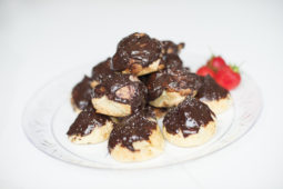 Chocolate Profiteroles - Home Cooking With Julie