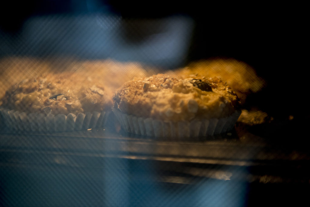 banana blueberry muffins recipe