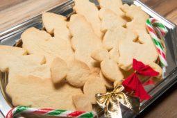 Christmas shortbread cookies Julie Neville
