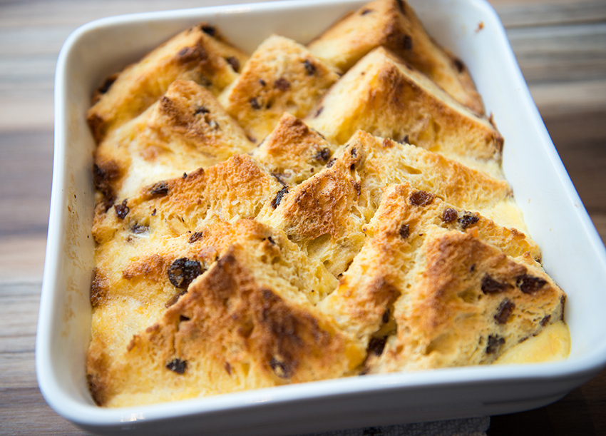 PANNETONE BREAD PUDDING by Home Cooking with Julie 05