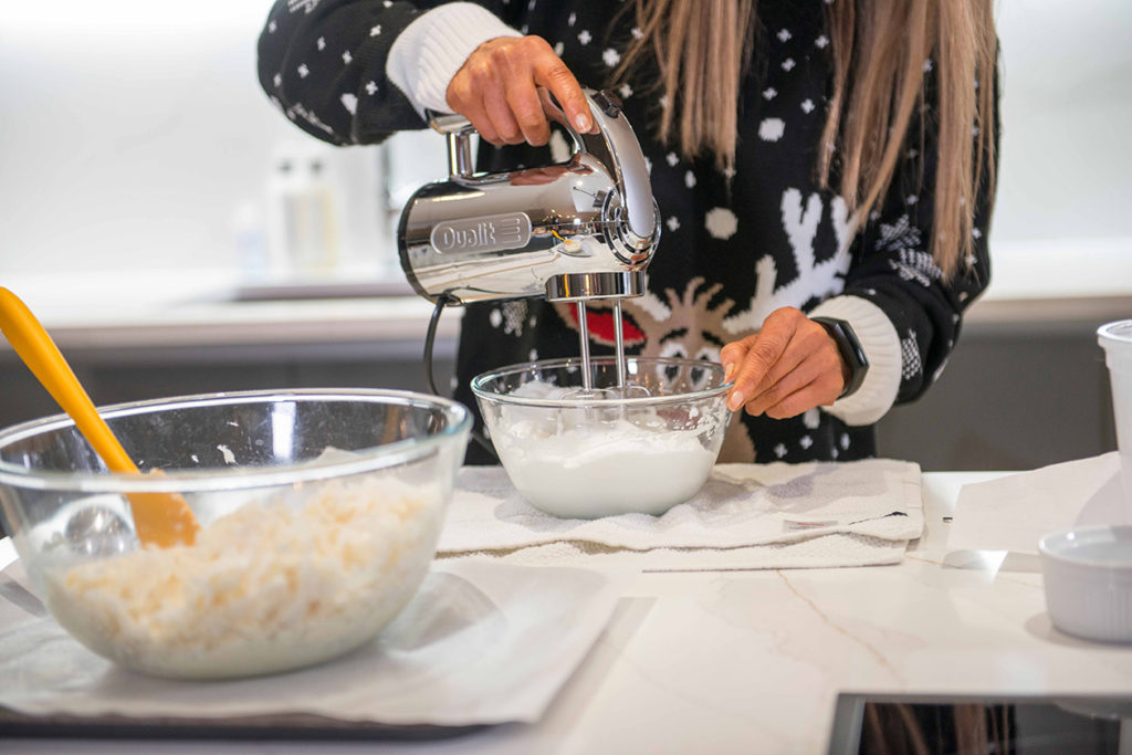 SNOWBALL COCONUT MACAROONS Recipe by Julie Neville
