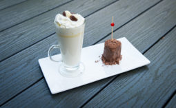WHITE HOT CHOCOLATE WITH CHOCOLATE FLAKE MARSHMALLOW STIRRERS by Home Cooking with Julie 04