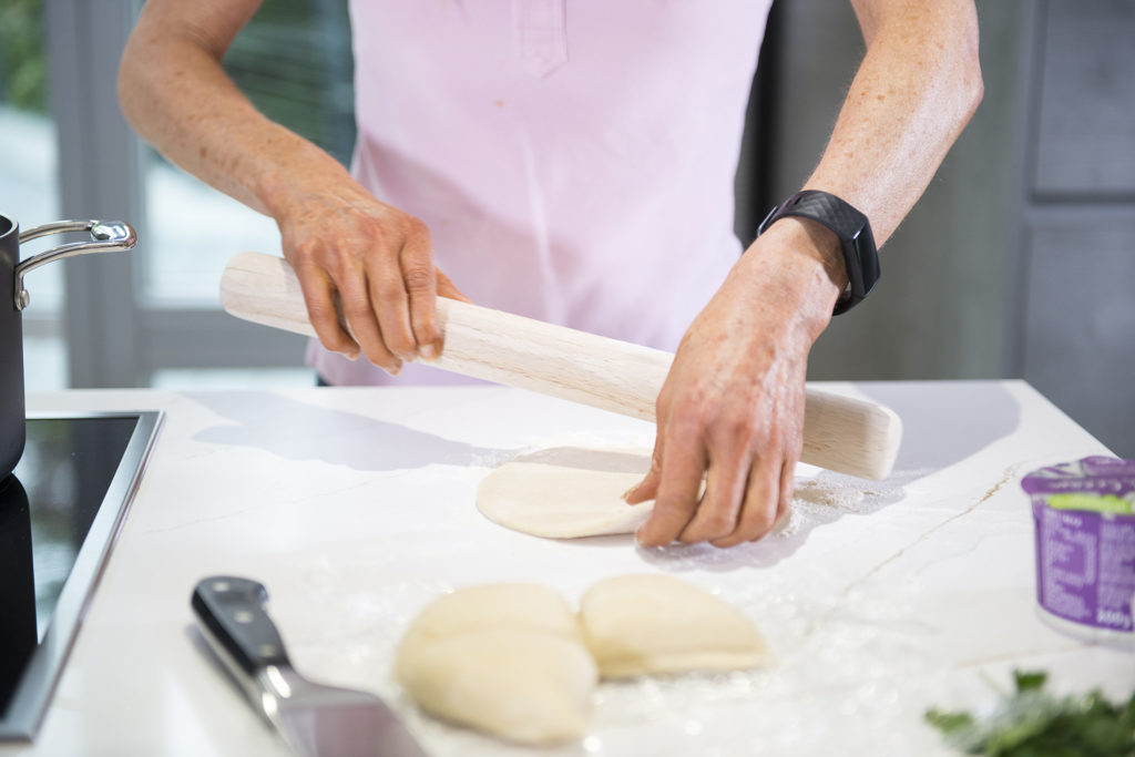 flatbread recipe by home cooking with julie neville