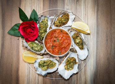 Oyster Valentines Day Home Cooking with Julie Neville