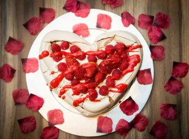 Pavlova Valentines Day Home Cooking with Julie Neville2
