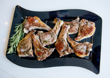 Rosemary Lamb Chops Home Cooking with Julie Neville6