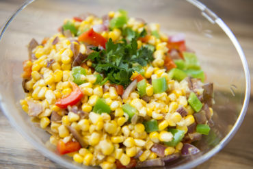 Sauteed Sweetcorn recipe by home cooking with julie neville 12