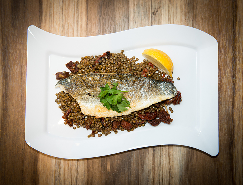 Sea Bass Valantines Day Home Cooking with Julie Neville