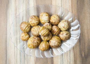Parmesan Mini Hasselback Potatoes recipe home cooking with julie neville19