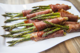 ASPARAGUS WRAPPED IN PROSCIUTTO RECIPE BY HOME COOKING WITH JULIE NEVILLE