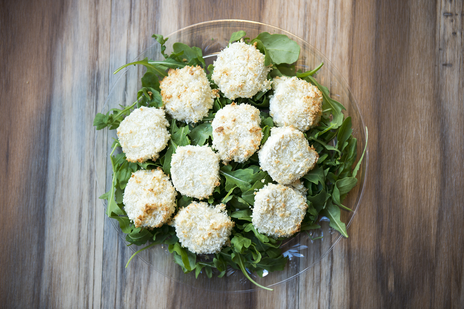 baked goats cheese bites recipe home cooking with julie neville