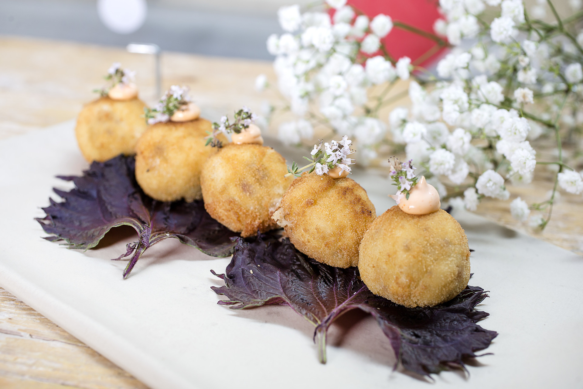 Ham and Mushroom Croquetes recipe home cooking with julie neville2