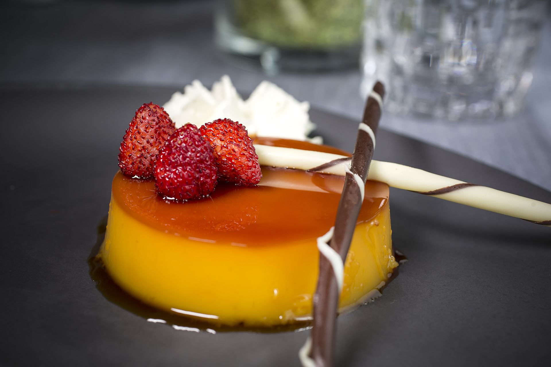 caramel flan recipe home cooking with julie neville4