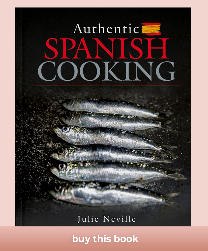 spanish cooking book copy