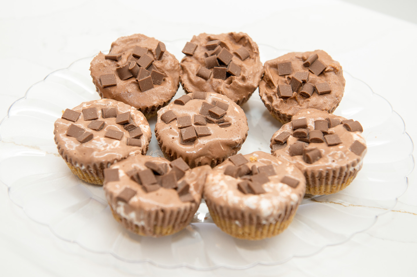 FROZEN CHOCOLATE AND MARSHMALLOW AND PEANUT BUTTER CUPCAKES recipe by home cooking with julie neville12