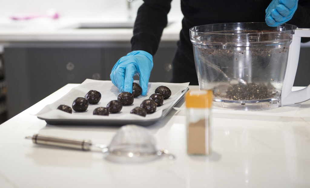 GINGERBREAD TRUFFLES recipe by home cooking with julie neville13