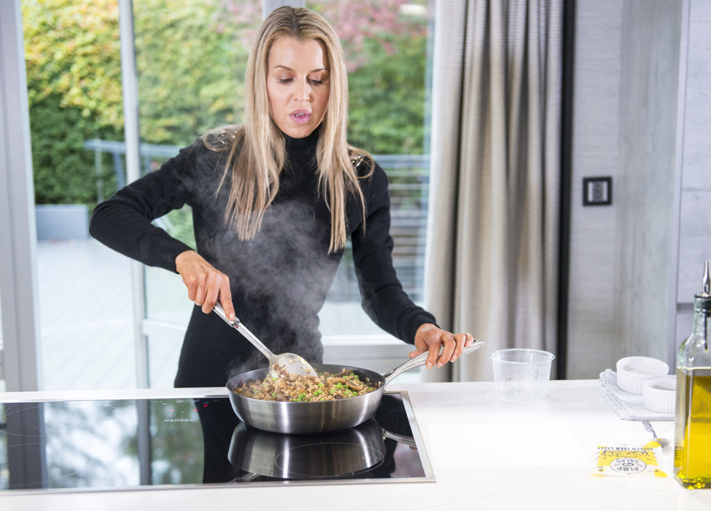 MUSHROOM RISOTTO recipe by home cooking with julie neville1