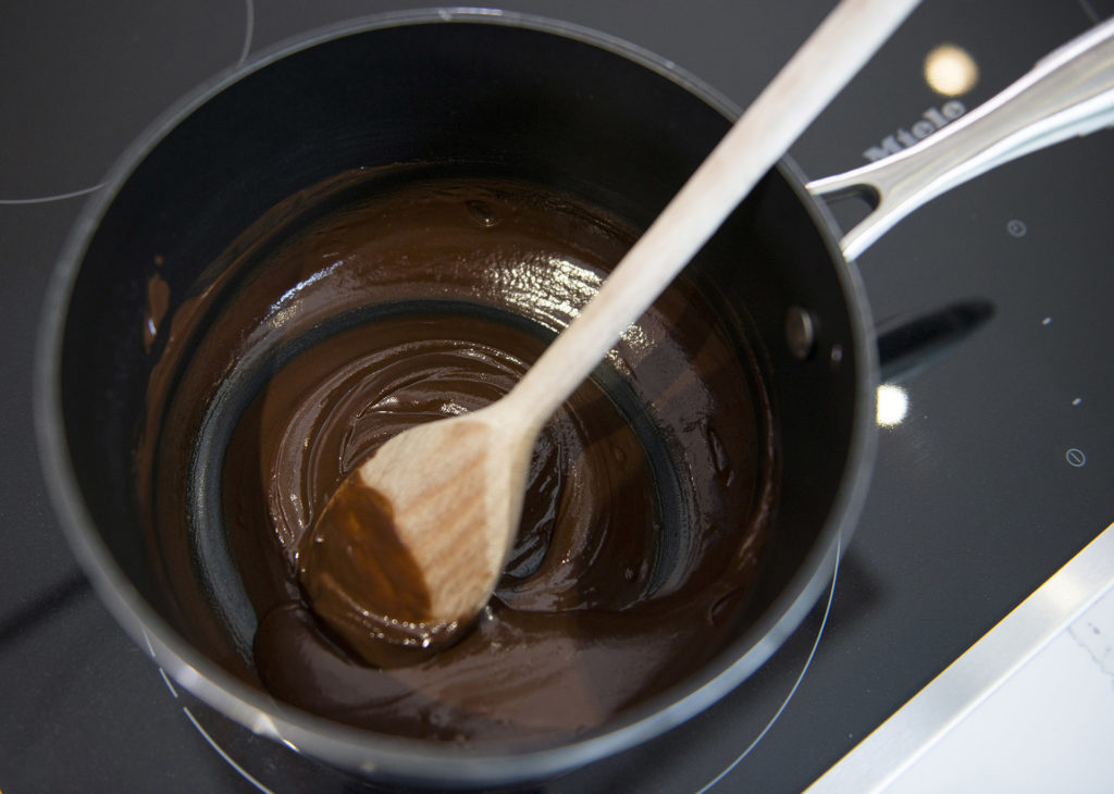 Chocolate Hazelnut Log recipe by home cooking with julie neville10