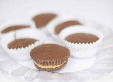 chocolate Peanut Butter Cups recipe by home cooking with julie neville