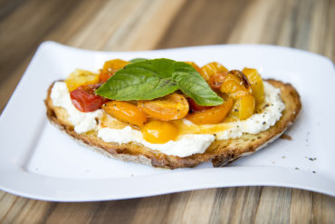 tomato and ricotta toasts recipe by Julie neville