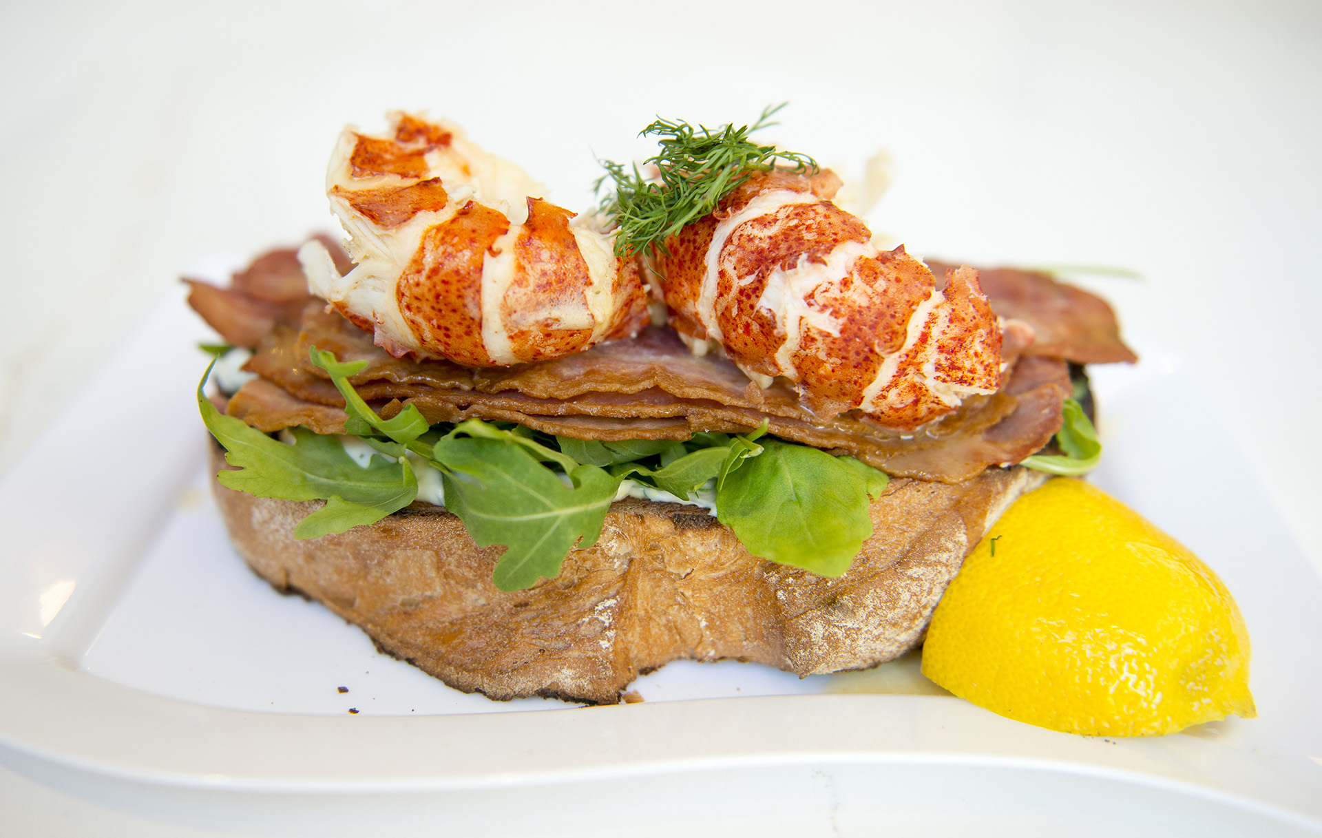 lobster toast recipe by home cooking with julie neville